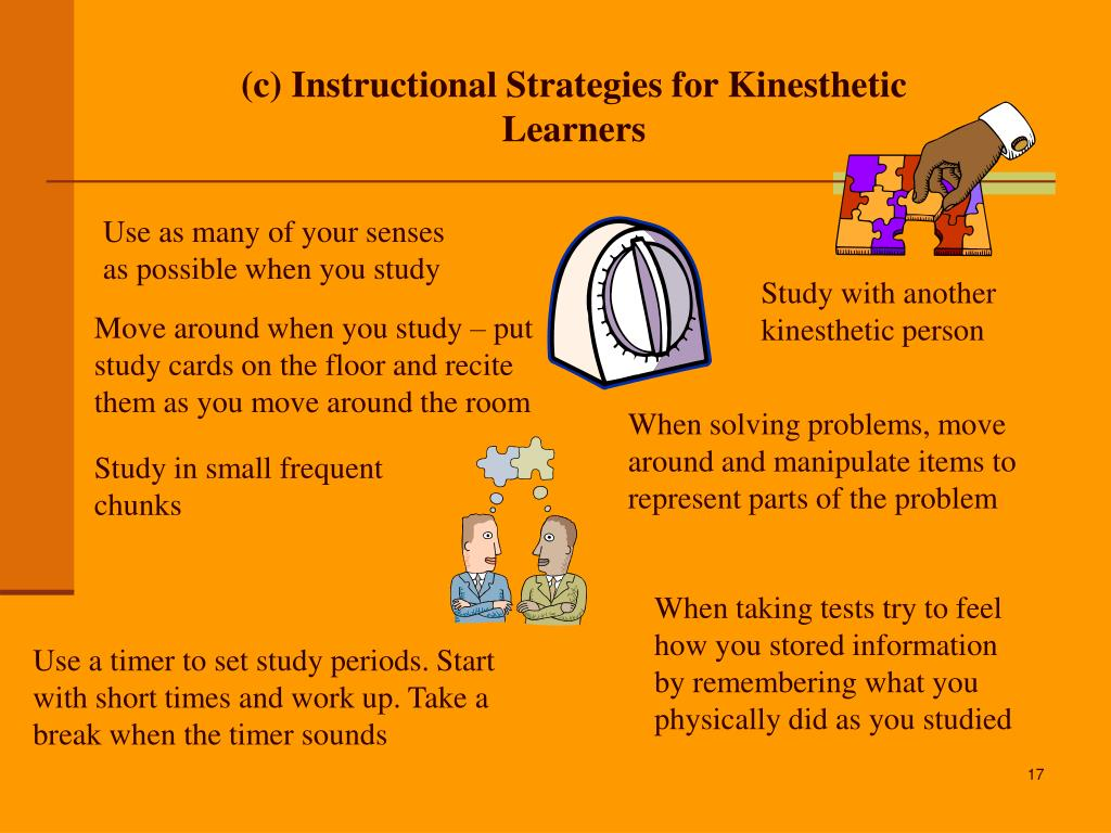 visual auditory kinesthetic test pdf