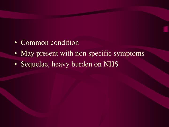 Common condition