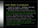 utah state constitution4