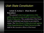 utah state constitution5