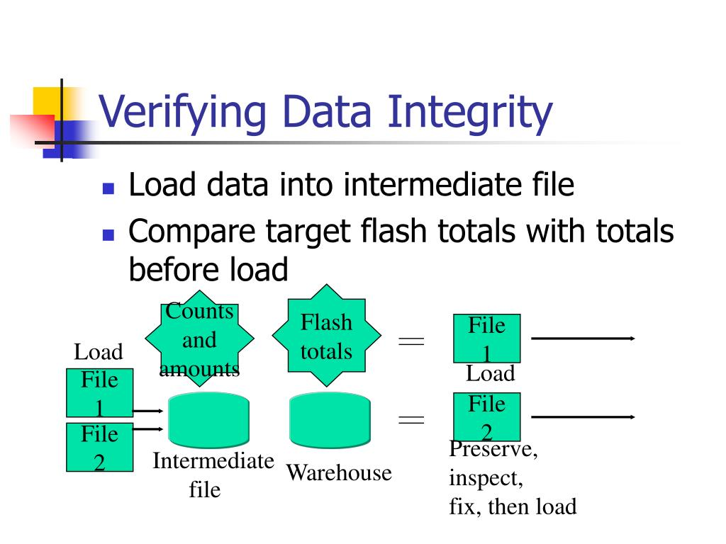 Verifying Data Integrity