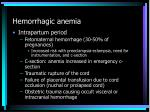 hemorrhagic anemia7