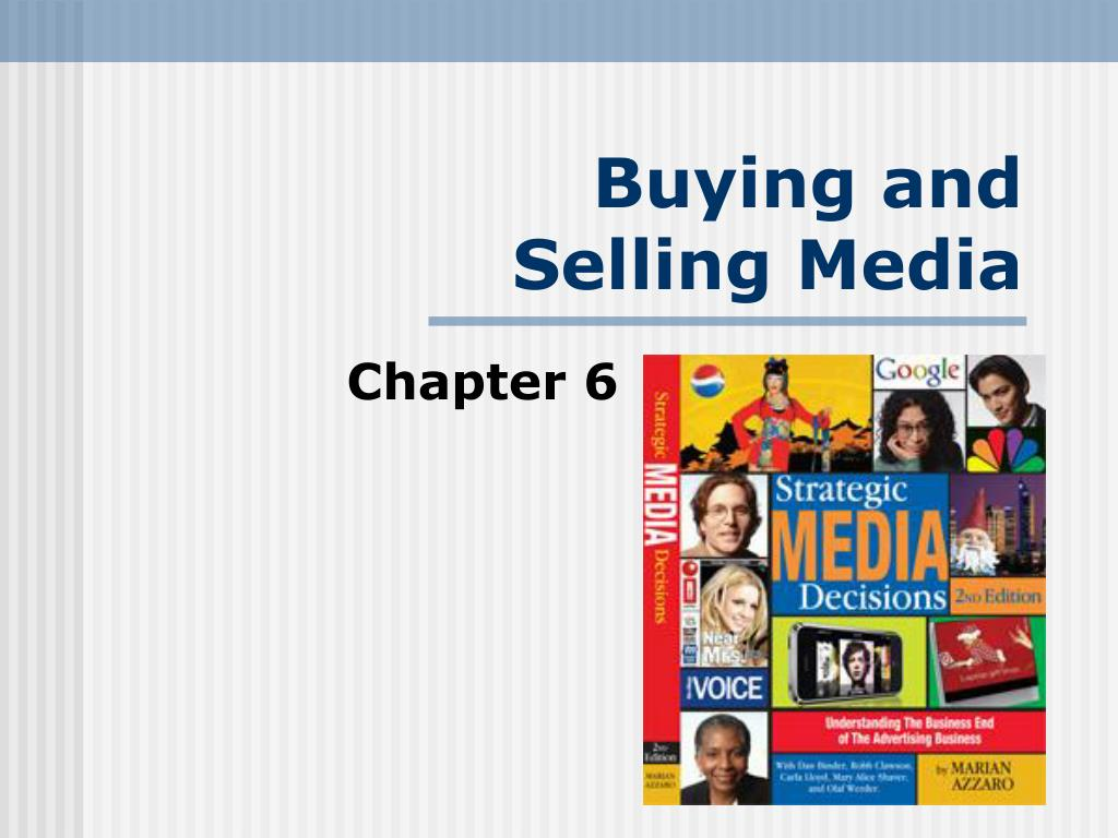 buying and selling media l.