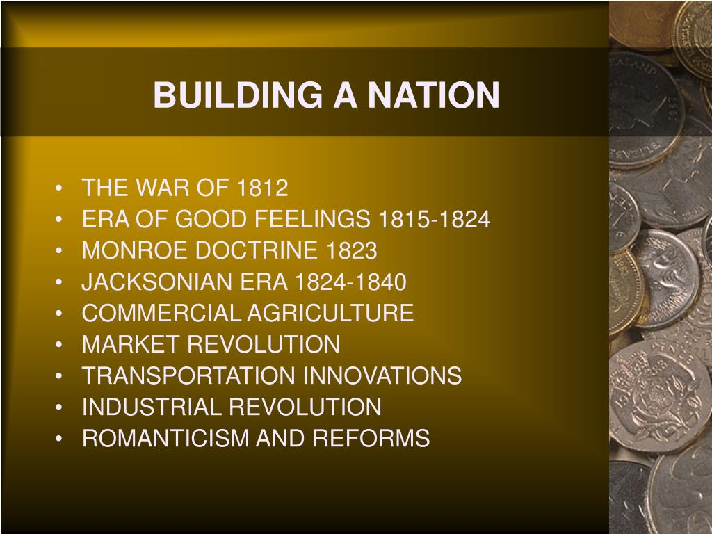 BUILDING A NATION