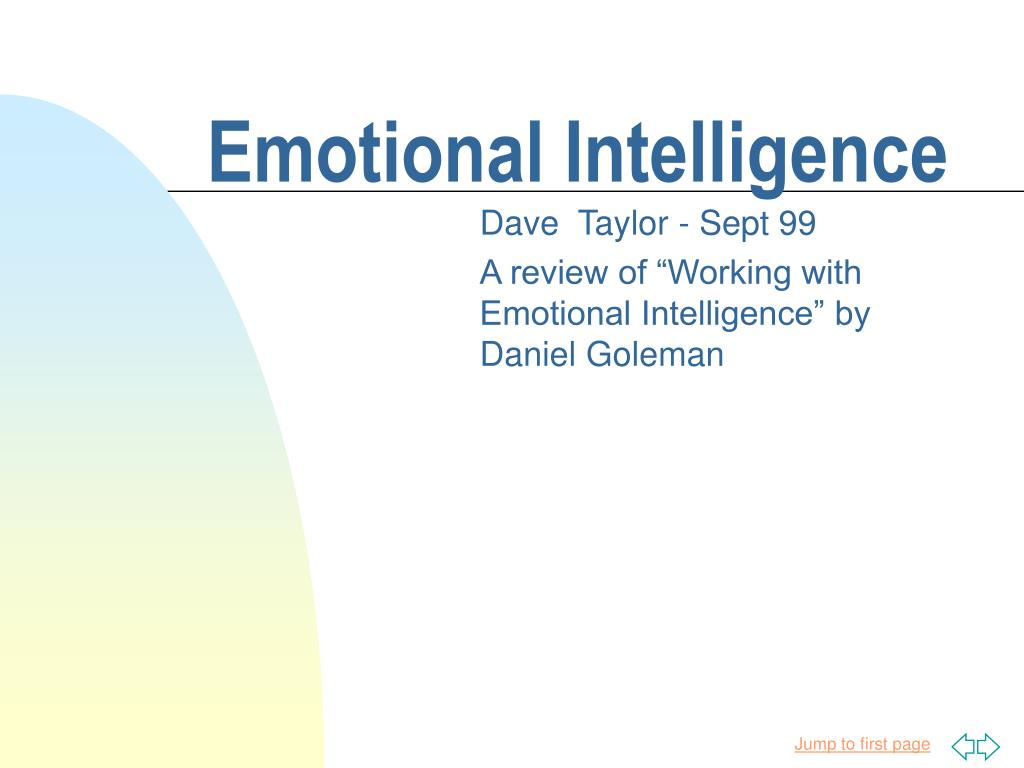 emotional intelligence l.