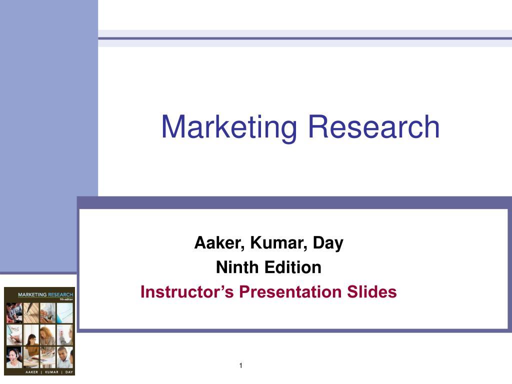 marketing research l.