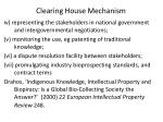clearing house mechanism44