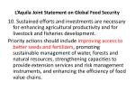 l aquila joint statement on global food security7