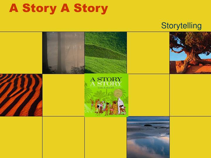 a story a story n.