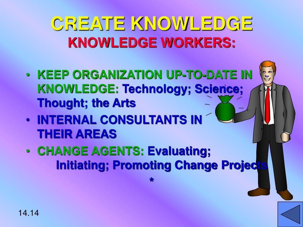 CREATE KNOWLEDGE
