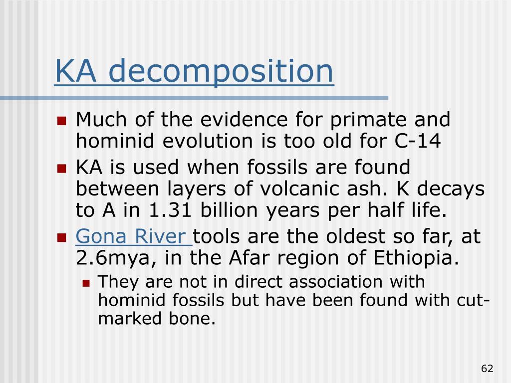 KA decomposition