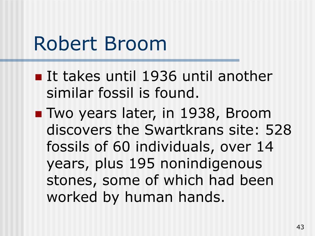 Robert Broom