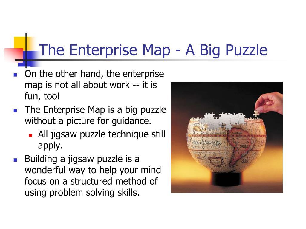 The Enterprise Map - A Big Puzzle