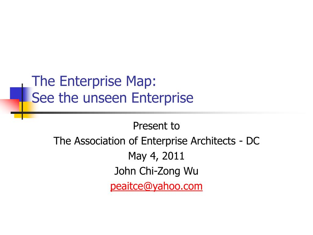The Enterprise Map:
