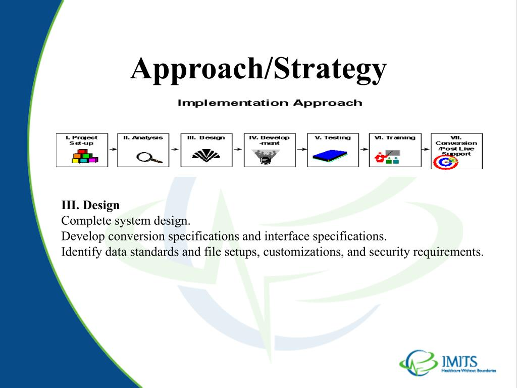 Approach/Strategy