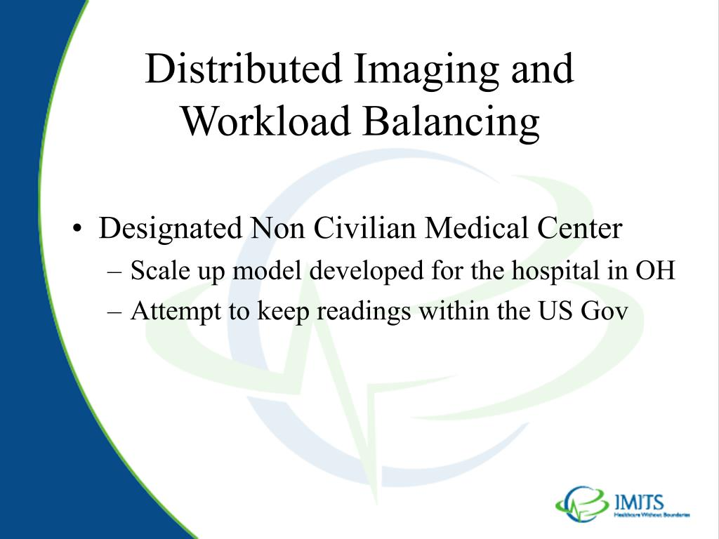 Distributed Imaging and Workload Balancing