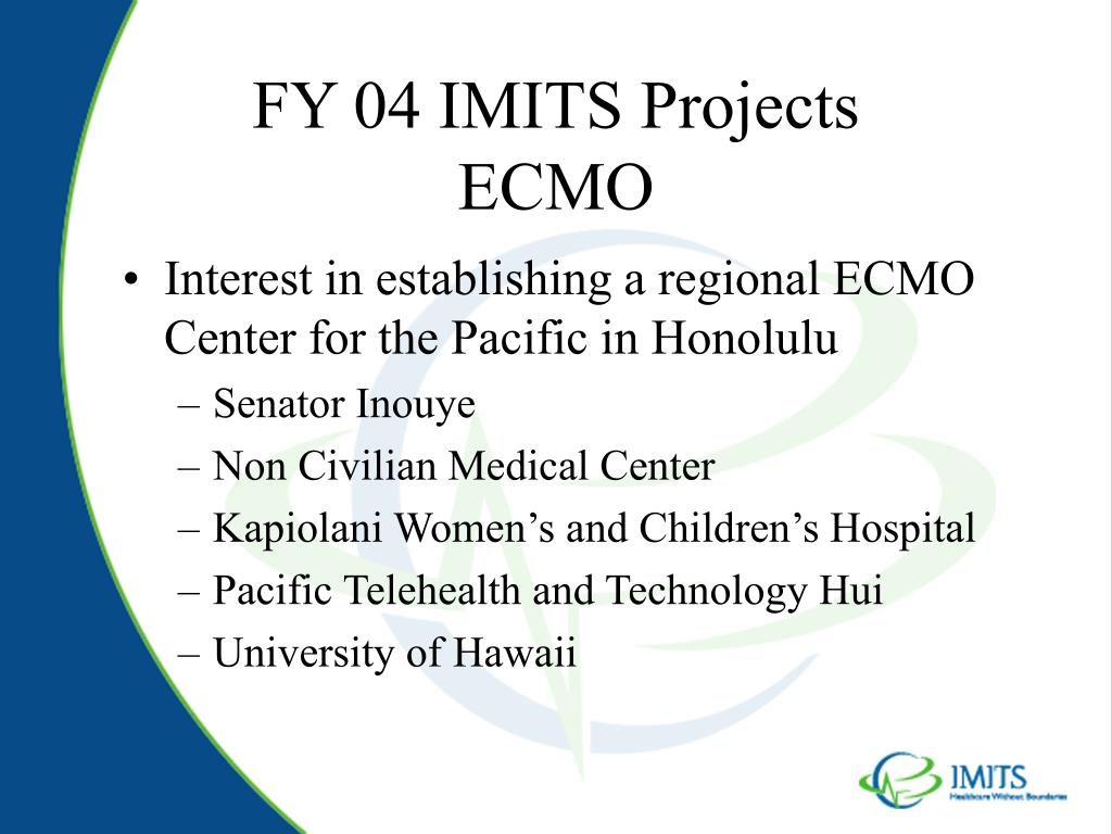 FY 04 IMITS Projects