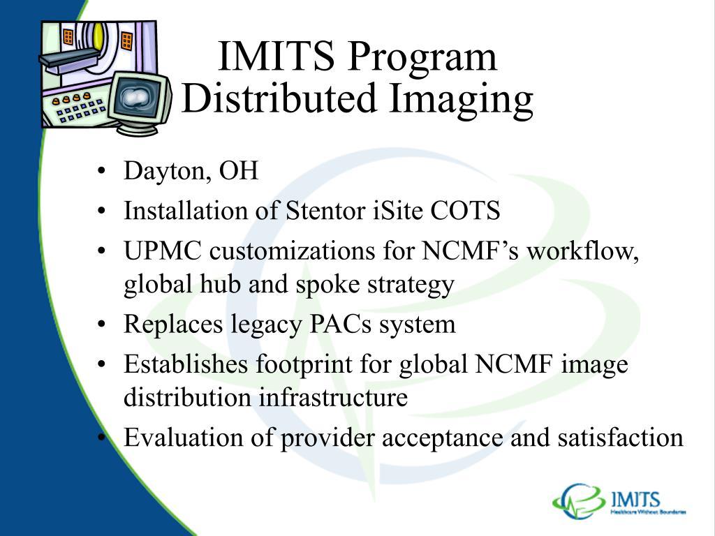 IMITS Program