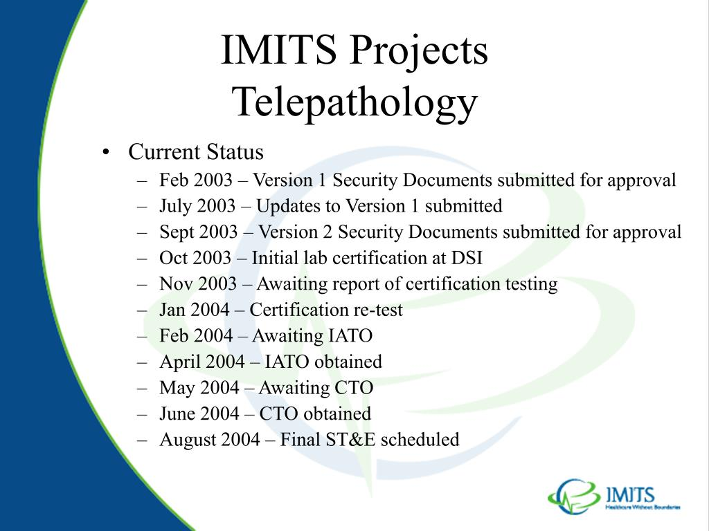 IMITS Projects
