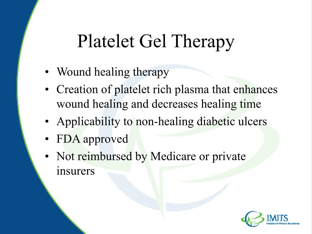 Platelet Gel Therapy