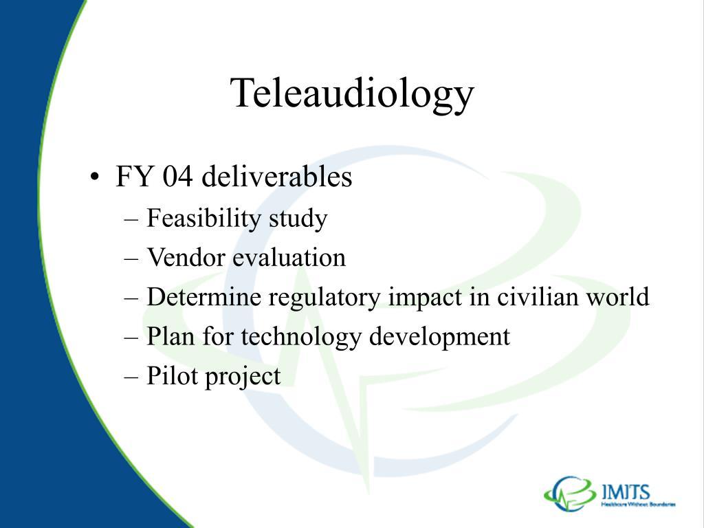 Teleaudiology