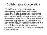 collaboration cooperation