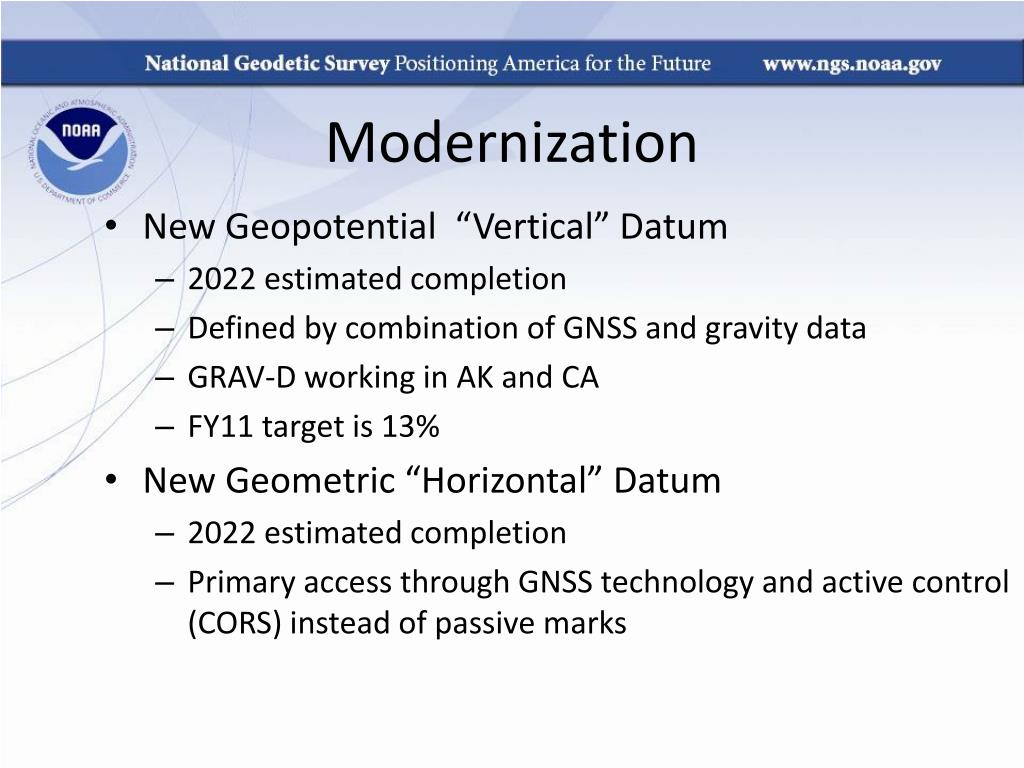 Modernization