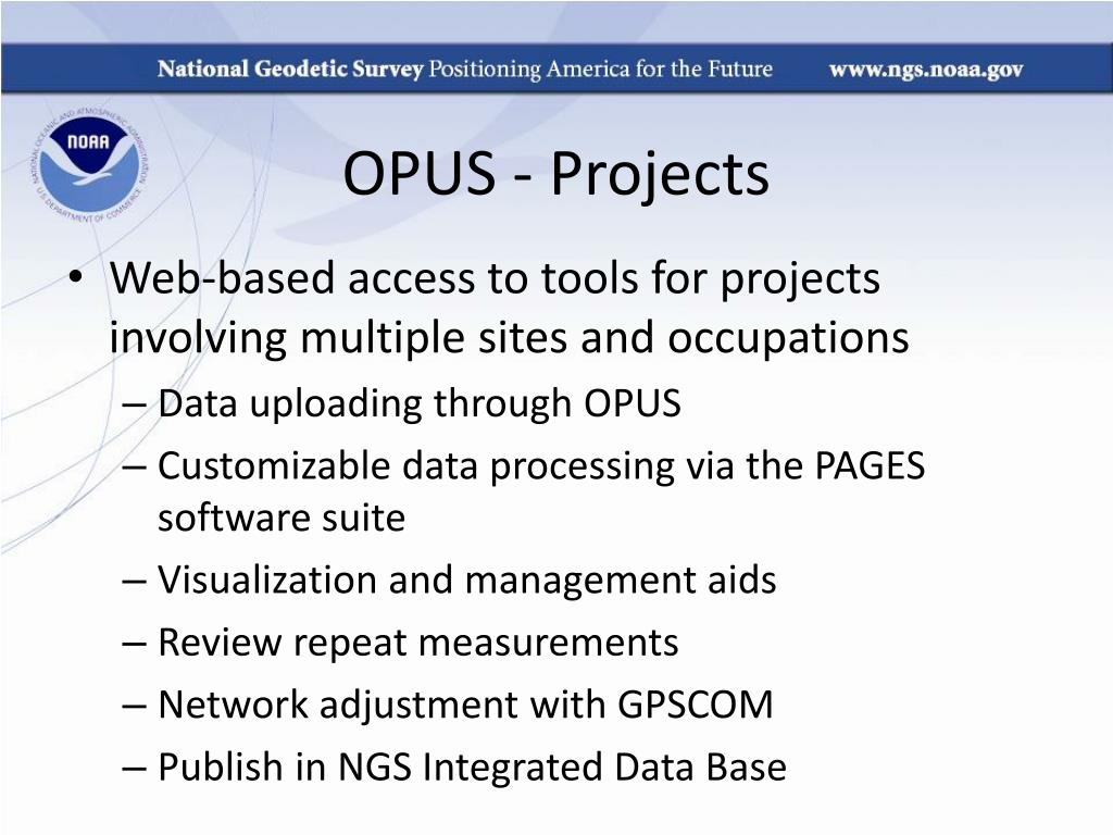 OPUS - Projects