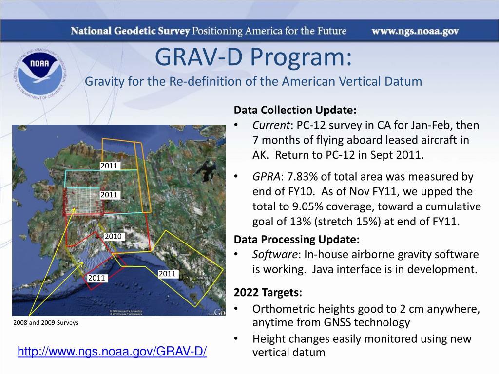 GRAV-D Program: