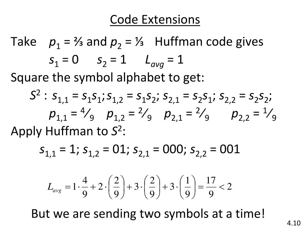 Code Extensions