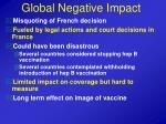 global negative impact