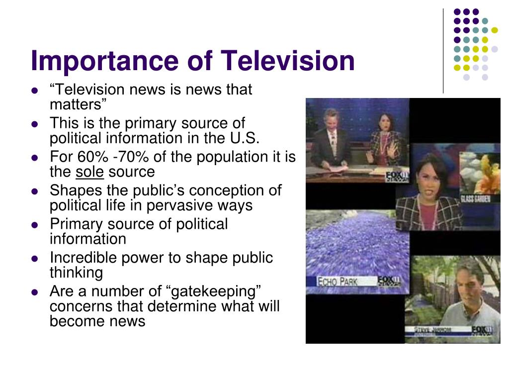 Importance of Television