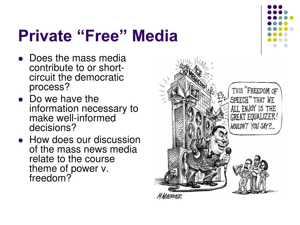 """Private """"Free"""" Media"""
