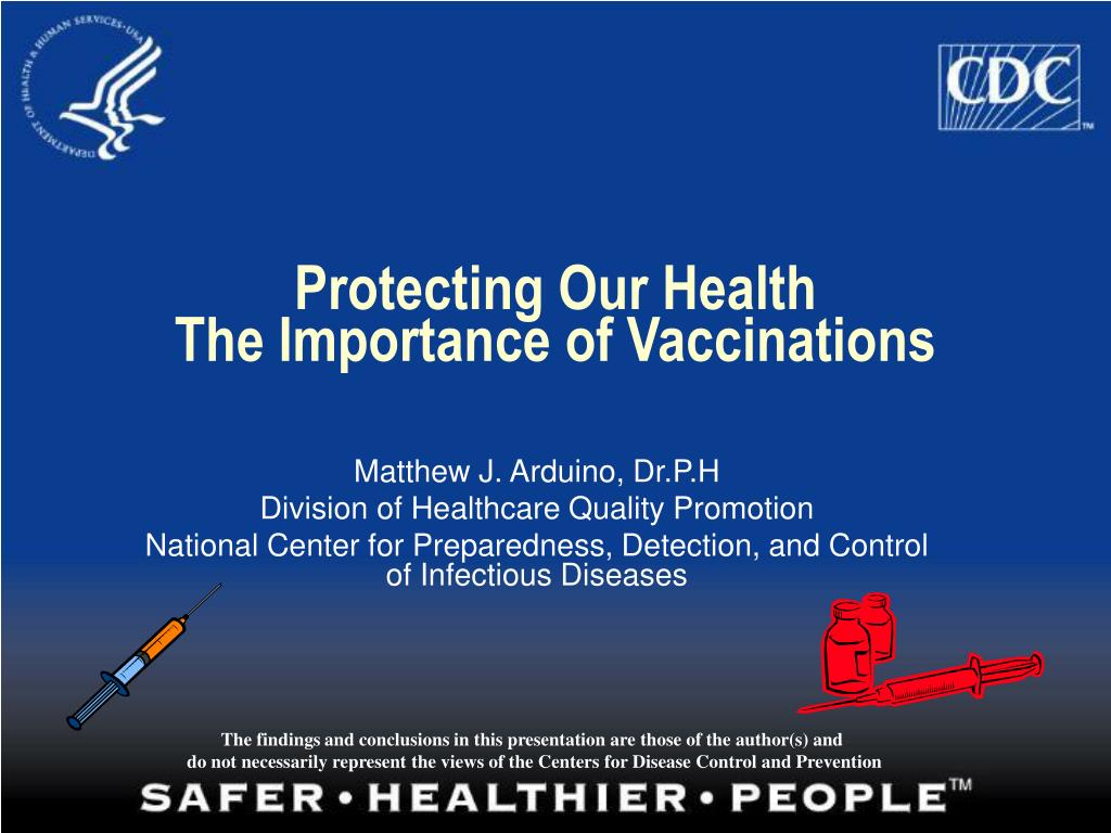 protecting our health the importance of vaccinations l.