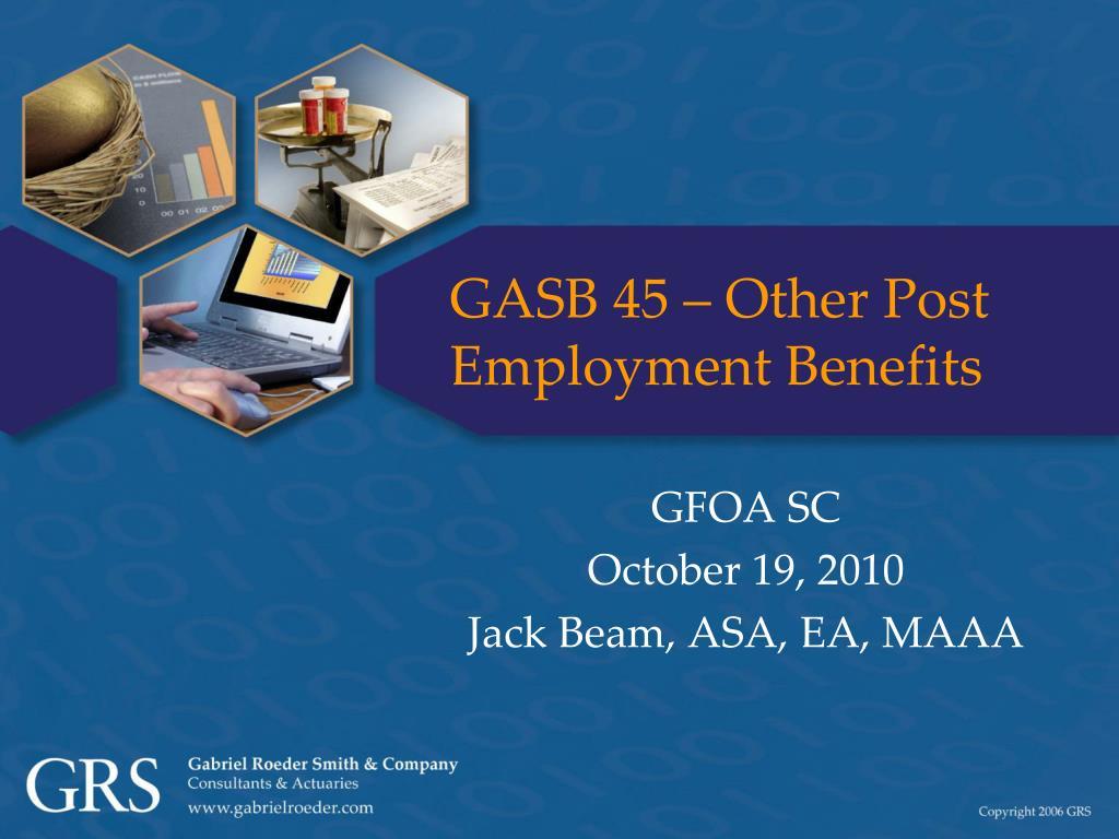 gasb 45 other post employment benefits l.