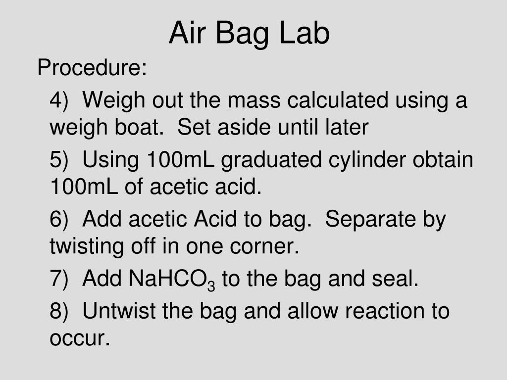 Air Bag Lab