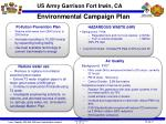 environmental campaign plan