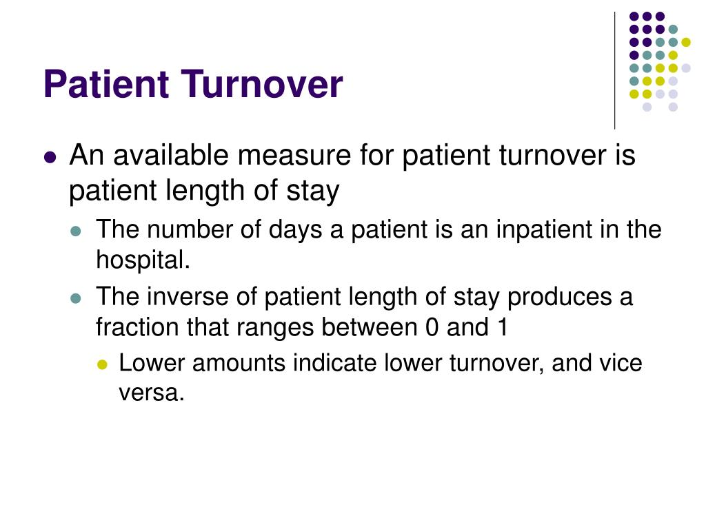 Patient Turnover