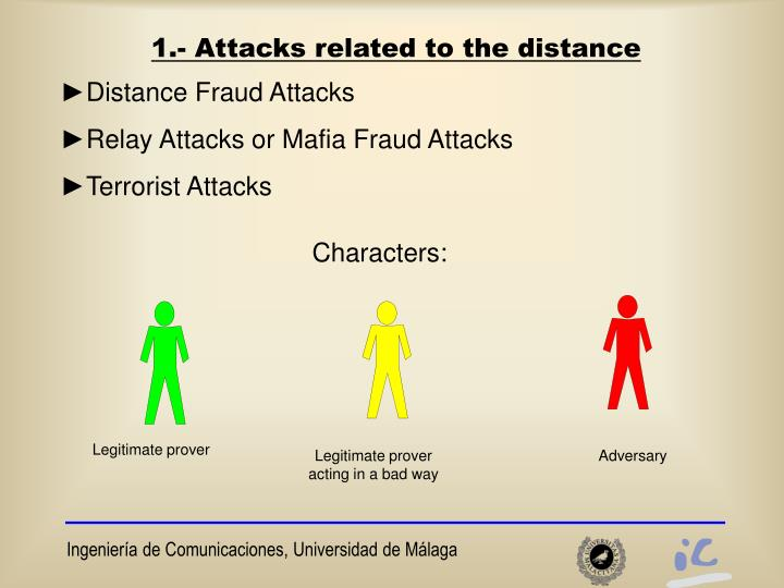 1 attacks related to the distance