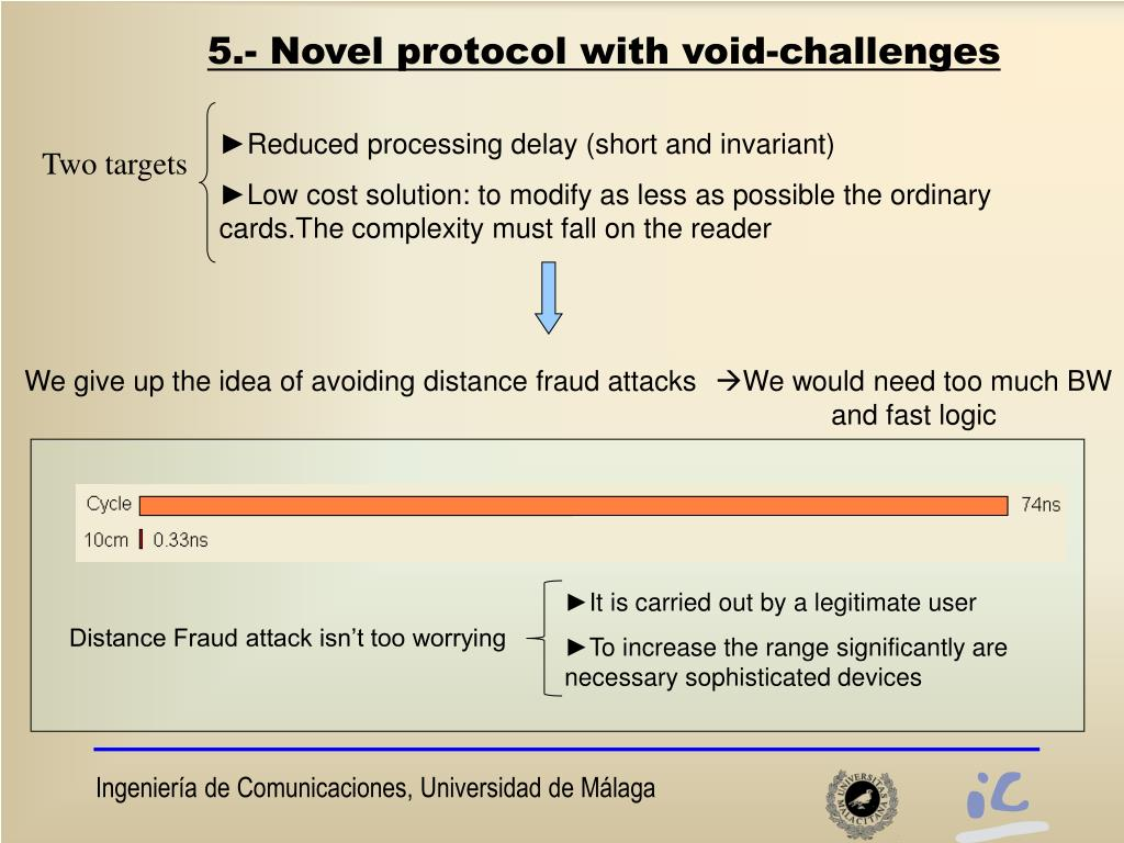 We give up the idea of avoiding distance fraud attacks