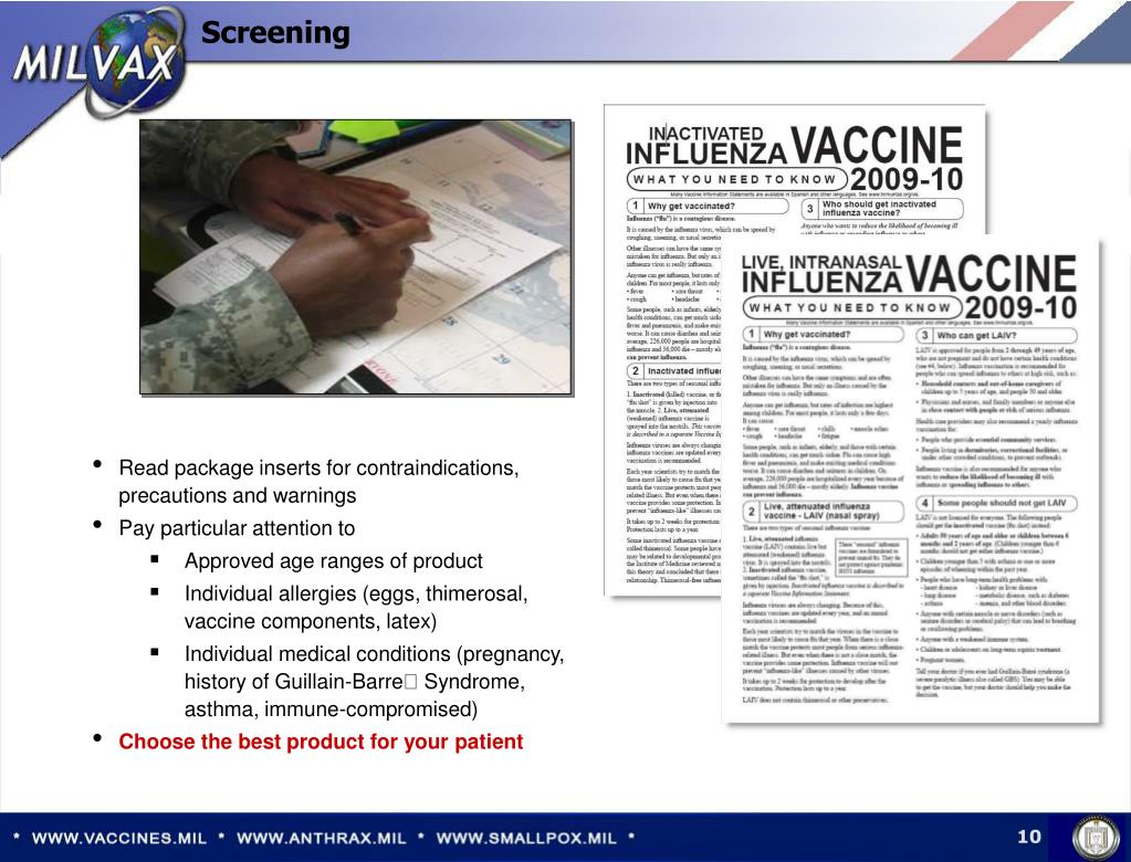 Read package inserts for contraindications, precautions and warnings