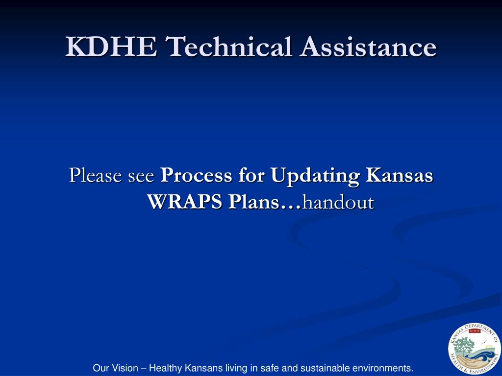 KDHE Technical Assistance
