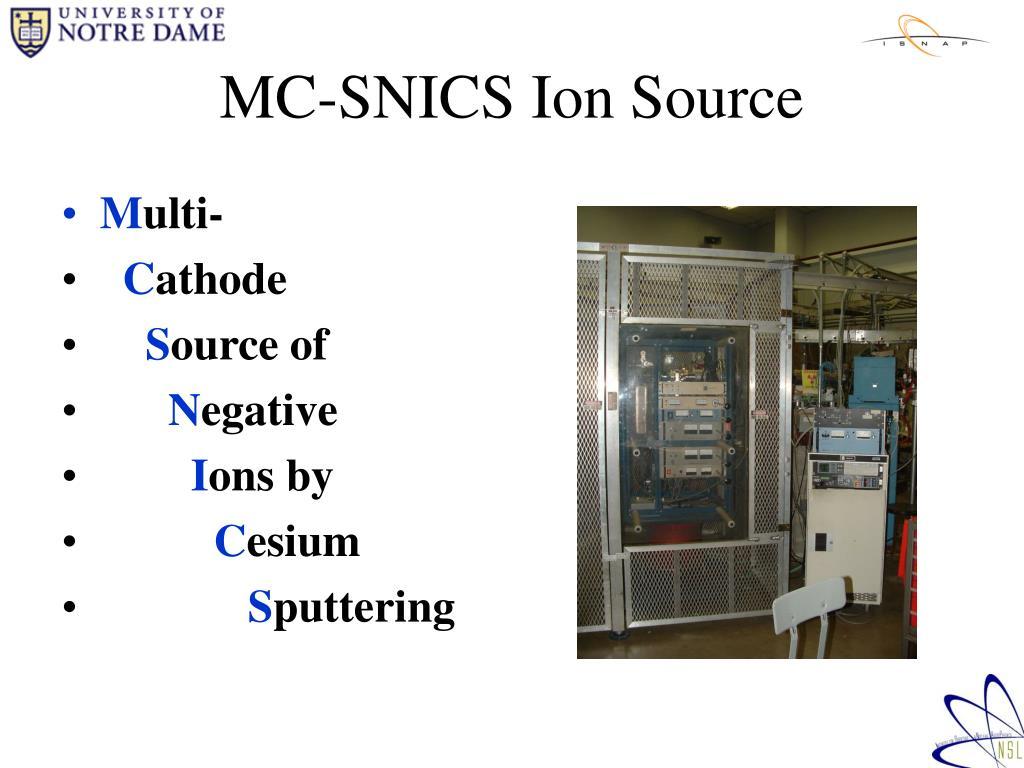 MC-SNICS Ion Source
