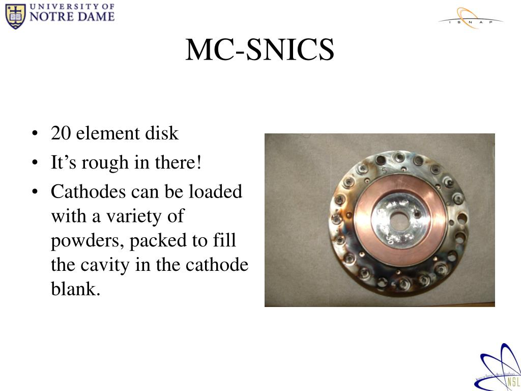 MC-SNICS