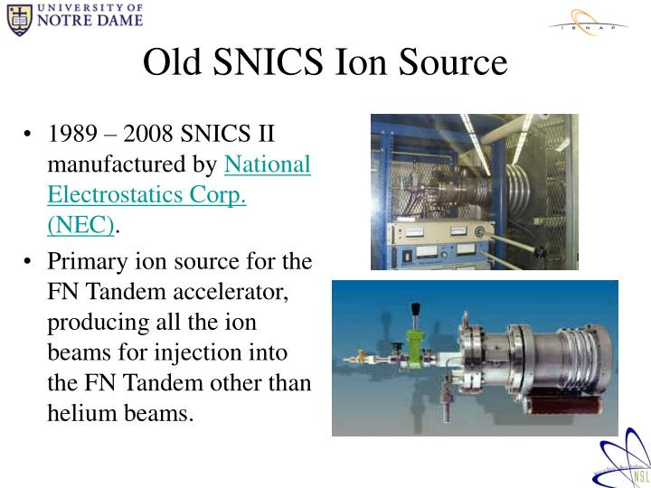 Old snics ion source
