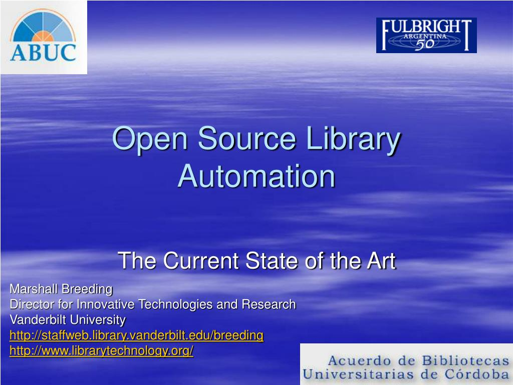 open source library automation l.