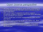 open source perspective