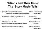 nations and their music the story music tells