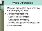 wage differentials22