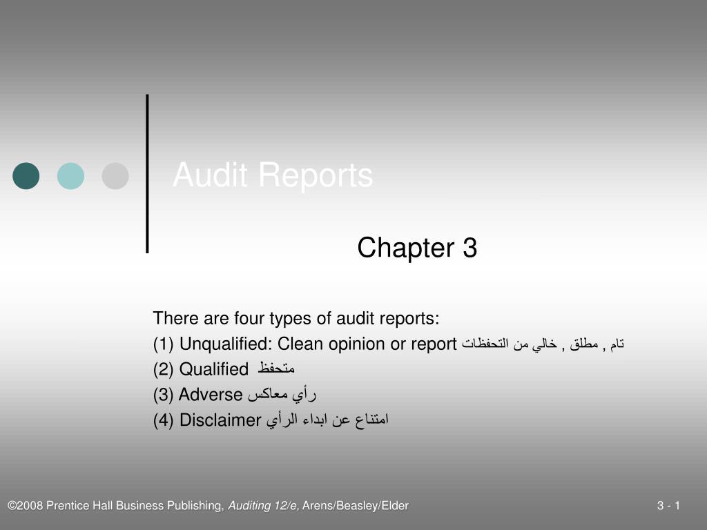 audit reports